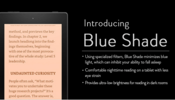 Amazon Fire tablet gets new 'Blue Shade' update to help night-time readers