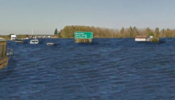Interstate 5 under water? App by UW scientist and enviros shows dramatic potential of climate change