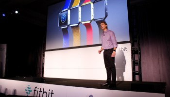 Fitbit unveils new wearable with Fitbit Blaze, a $199 Apple Watch competitor; stock down 10%