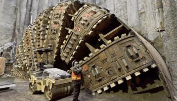 Bertha machine in December 2015