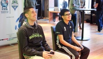 Interview: Soccer star Clint Dempsey on gaming, wearables, and the top Sounders FIFA players