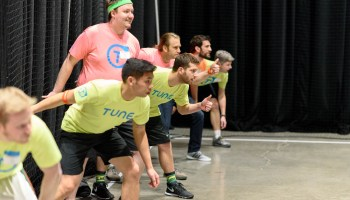 GeekWire Bash: Intriguing match-ups in this year's competitive 32-team dodgeball field, full bracket released