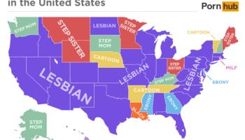 Pornhub search map