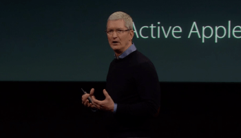 Apple's Tim Cook speaks out on FBI case at iPhone event: 'We will not shrink from this responsibility'