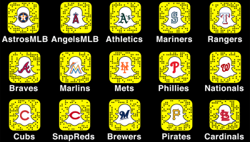 MLB expands deal with Snapchat, will let players stream video from dugouts during Spring Training