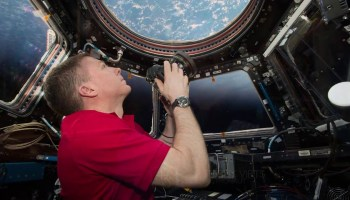 Terry Virts on International Space Station for 'A Beautiful Planet'