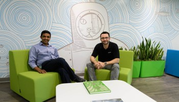 Inside Groupon's new Seattle office: Waterfront views, lots of green, and a fro-yo machine