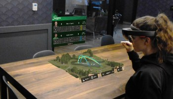 PGA Tour tests new golf demo on Microsoft HoloLens, with help from a Seattle startup