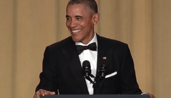 President Obama calls out Snapchat and LinkedIn during final White House correspondents' dinner