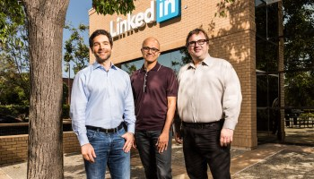 LinkedIn CEO Jeff Weiner on integration with Microsoft: 'So far, so good'