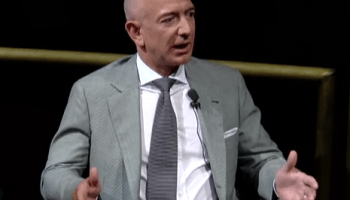 Jeff Bezos says a big government 'prize' could generate more public interest in space exploration