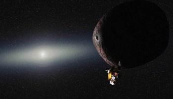 New Horizons flyby