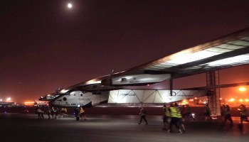 Solar Impulse in Cairo