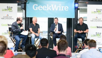Data is the future of sports, say GeekWire sports tech panelists