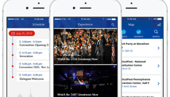 Inside the Democratic National Convention's official app, with the Seattle startup that made it
