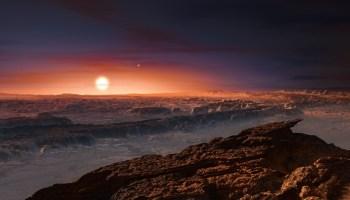 Proxima Centauri b terrain