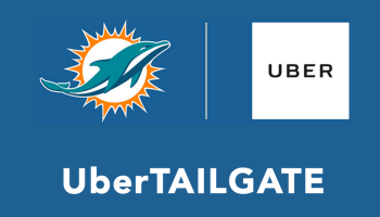 UberTailgate: Uber teams up with Miami Dolphins to help NFL fans party before games for $250