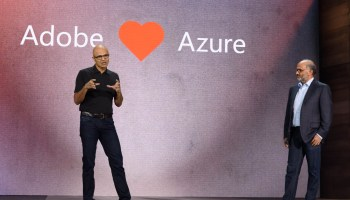 Adobe partners with Microsoft to use Azure as 'preferred solution' for cloud services