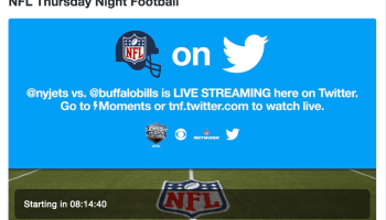 Watch Jets vs. Bills for free: Twitter's first-ever attempt at live streaming an NFL game