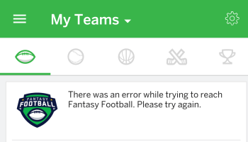 Users freak out as ESPN's fantasy football app, website go down for hours on first day of NFL games