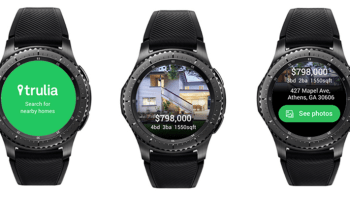Trulia app Samsung Gear S3