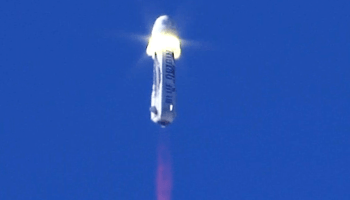 Blue Origin spacecraft separation