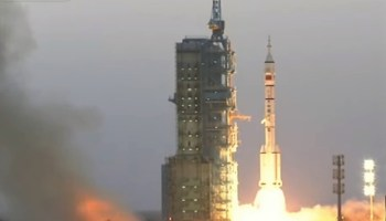 Shenzhou 11 launch
