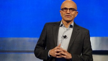 Microsoft holds annual meeting, minus Gates and Ballmer, after big year for company stock