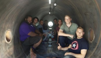 UW Hyperloop team fuels its final dash to the national pod races with crowdfunding