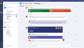 Microsoft set to take on Slack with global release of workplace chat app 'Teams' next week