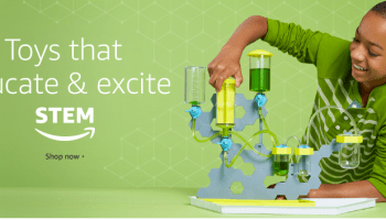Amazon launches STEM toy subscription service to 'educate and excite' budding young scientists
