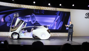 Toyota unveils 'kinetic warmth' concept car at CES that uses AI to nurture driver-vehicle relationship