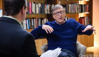 Interview: Why Bill Gates is still optimistic about the world, and what he wants from President Trump