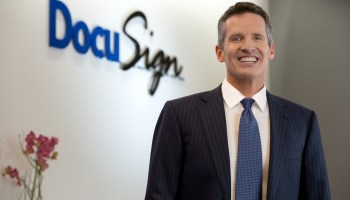 Tech dominates Glassdoor's top CEO rankings with strong showings by DocuSign, LinkedIn and Salesforce leaders