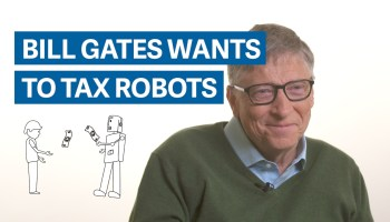 Tax the robots! Bill Gates on why even automation should be held to this human requirement