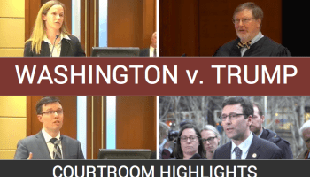 Watch: 'So-called judge' hears arguments and rules on President Trump's immigration order