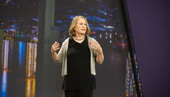 Google Cloud's Diane Greene thinks it has 'a pretty good shot' of overtaking AWS in five years
