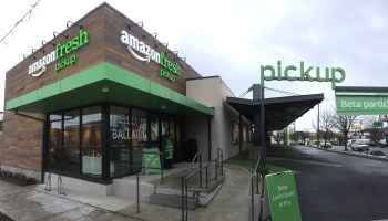 Amazon finally unveils grocery pickup service — but it's only for employees at first