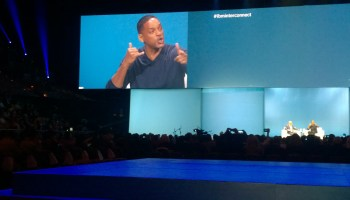 Actor and musician Will Smith explains how he honed his career with data, 'like an African American Watson'