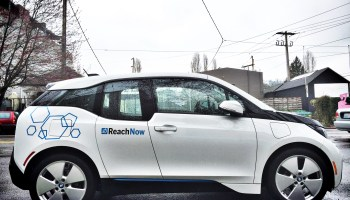 ReachNow car-sharing service partners with Intel in Portland; ends free-floating model in Brooklyn
