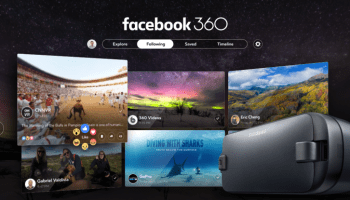 Facebook launches virtual reality app that serves as a hub for 360 photo and video