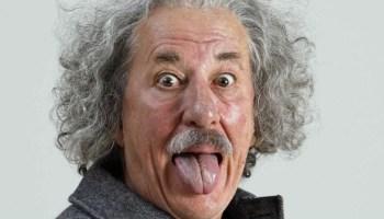 Geoffrey Rush as Albert Einstein in