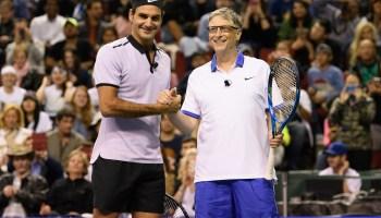 Gates and Federer