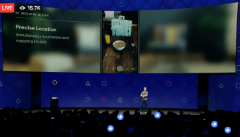 Augmented reality will be Facebook's next big push, starting with smartphone cameras