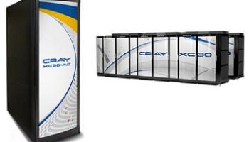 A Cray XC30 supercomputer