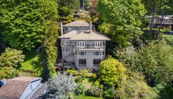 The Lookout at Three Tree Point –  Beautiful Waterfront NW Contemporary