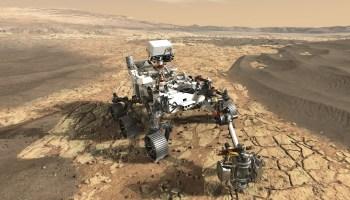 NASA 2020 Mars rover