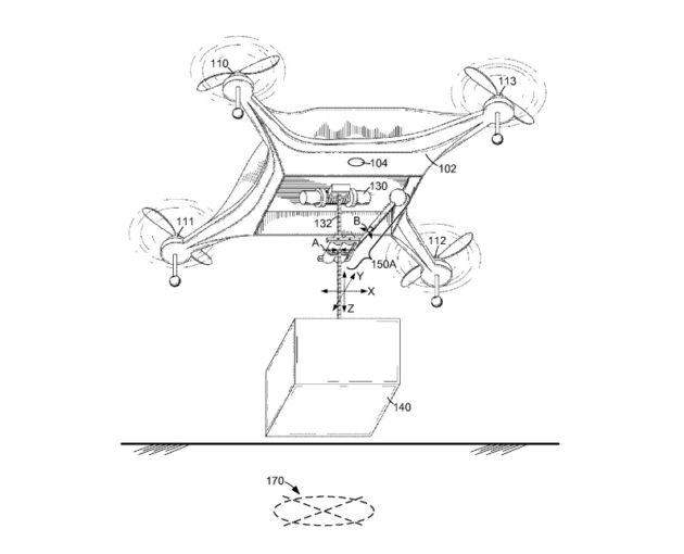 Amazon patents delivery drone designs with adjustable arms