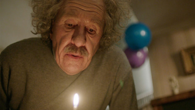 "Geoffrey Rush as Albert Einstein in ""Genius"""