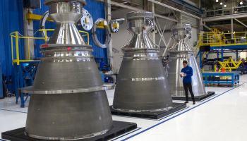 Blue Origin BE-4 engines